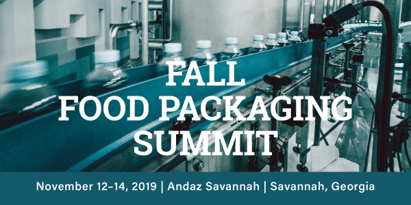 2019 Fall Food Packaging Summit