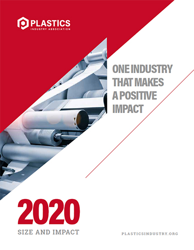 Size and Impact of the Plastics Industry on the U.S.: 2020