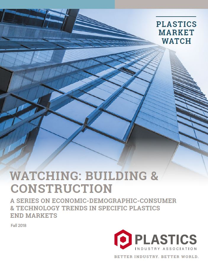 Plastics Market Watch Watching: Building & Construction