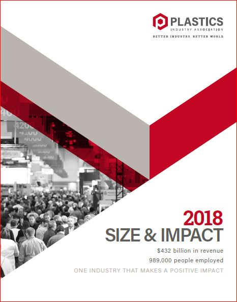 Size and Impact of the Plastics Industry on the U.S.: 2018