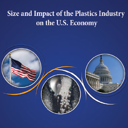 Size and Impact of the Plastics Industry on the U.S.: 2011